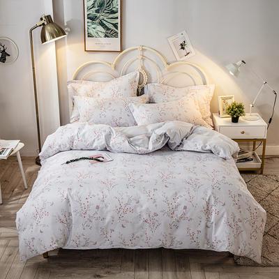 2021年新款-全棉13372印花四件套 床单款四件套1.5m(5英尺)床 安娜-兰