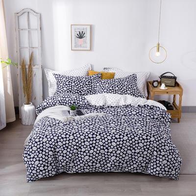 2020新款-小清新ins风四件套 床单款四件套1.5m(5英尺)床 小雏菊