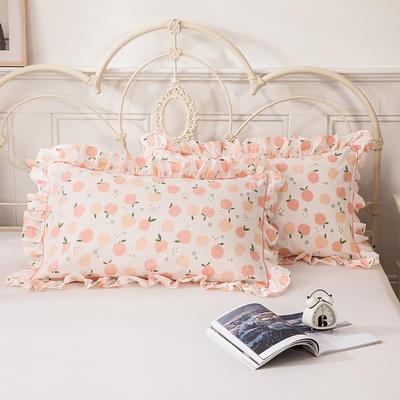 2021新款-韩版13372全棉印花单枕套 48x74CM枕套对 窈窕淑女枕套