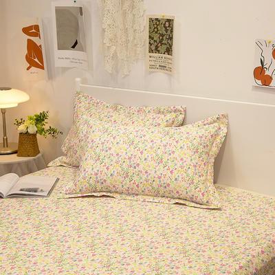 2021新款-13372全棉印花单枕套 48x74cm一对 浪漫满屋