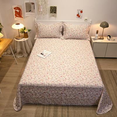 2021新款-13372全棉印花单床单 180x230cm 花之恋