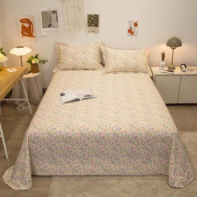 2021新款-13372全棉印花单床单 180x230cm 浪漫满屋
