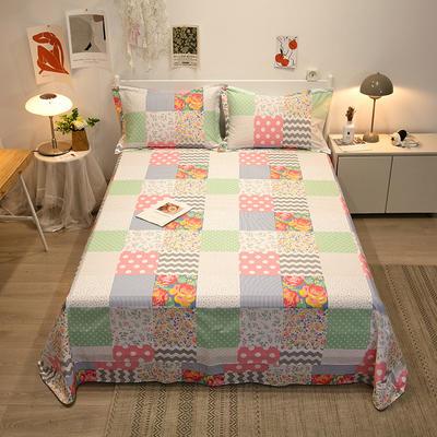 2021新款-13372全棉印花单床单 180x230cm 清新花语