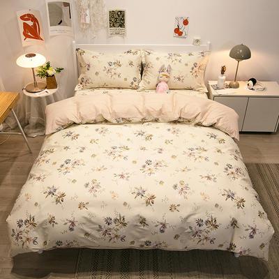 2021新款-13372全棉印花四件套 1.8m被套加大床单款四件套 嘉年华