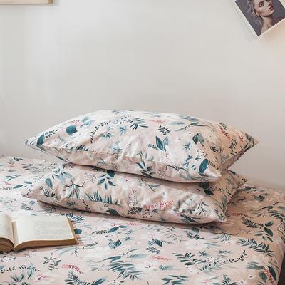 2021年新款-13372印花单枕套 48cmX74cm/对 花之语