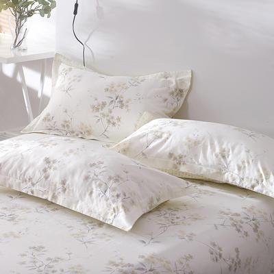 2021年新款-13372印花单枕套 48cmX74cm/对 沙琳枕套