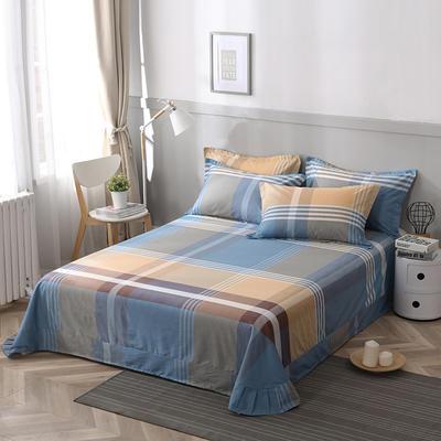 2021年新款-13372印花单床单 180cmx230cm 布鲁赛尔床单