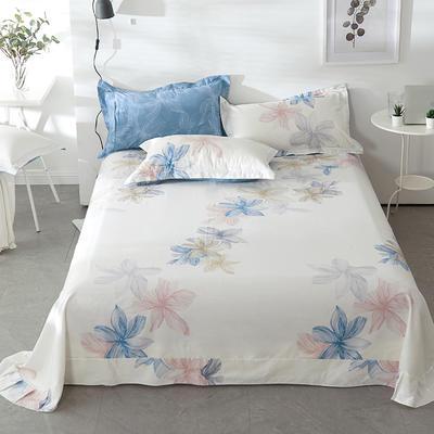 2021年新款-13372印花单床单 180cmx230cm 富贵花床单