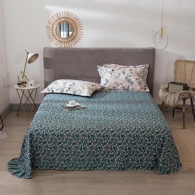 2021年新款-13372印花单床单 180cmx230cm 花之语B