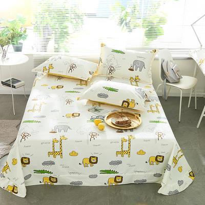 2021年新款-13372印花单床单 180cmx230cm 快乐旅途床单