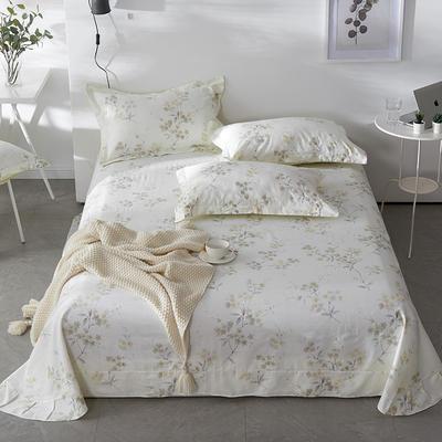 2021年新款-13372印花单床单 180cmx230cm 沙琳床单