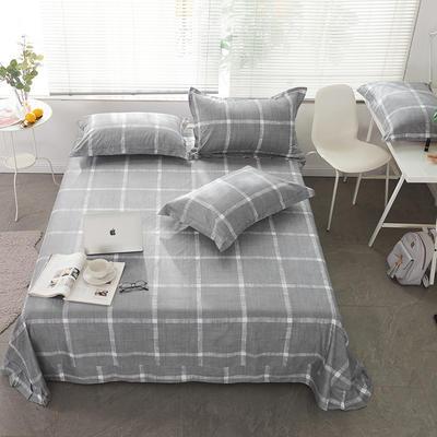 2021年新款-13372印花单床单 180cmx230cm 运动风情床单
