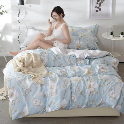 2021年新款-全棉13372印花四件套 床单款1.8被套加大四件套 雅风四件套