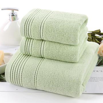 2018新款麻花毛巾浴巾 绿毛巾34*75cm
