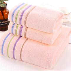 2018新款糖果毛巾浴巾 粉毛巾34*76cm