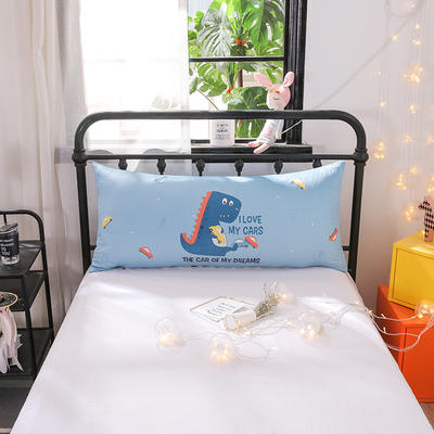 2018新款北欧卡通儿童靠枕单人床头靠垫抱枕可拆洗 50x110cm 霸王龙
