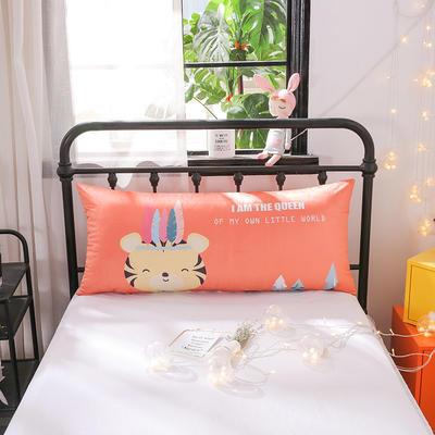 2018新款北欧卡通儿童靠枕单人床头靠垫抱枕可拆洗 50x110cm 迷你小狮