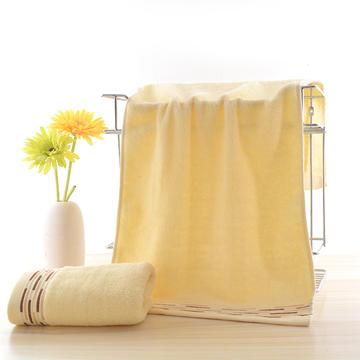 2018新款平行线毛巾 黄色33*73cm
