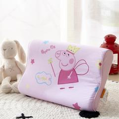 幼儿园儿童系列卡通慢回弹记忆枕 包装/个无纺布手提袋 佩奇天使