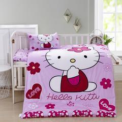 幼儿园儿童系列13372大版花型幼儿园儿童套件 不含芯三件套 KT猫