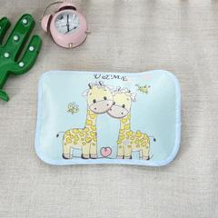 幼儿园儿童系列大版数码印花冰丝童枕 如需无纺布手提袋/个 两只小鹿