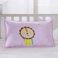 幼儿园儿童系列大版花13372纯棉卡通定位枕套 枕芯包装/个 快乐随心枕套