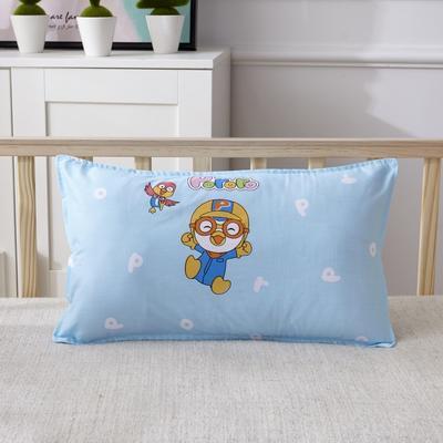 幼儿园儿童系列大版花13372纯棉卡通定位枕套 枕芯包装/个 一起玩枕套
