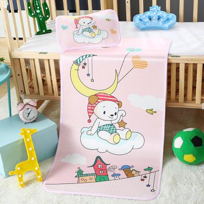 幼儿园儿童系列大版数码印花冰丝童席 如需无纺布手提袋/个 快乐云端