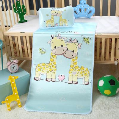 幼儿园儿童系列大版数码印花冰丝童席 如需无纺布手提袋/个 两只小鹿