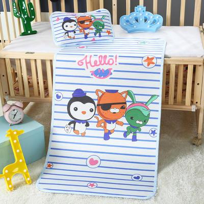 幼儿园儿童系列大版数码印花冰丝童席 如需无纺布手提袋/个 萌星小纵队