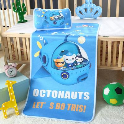 幼儿园儿童系列大版数码印花冰丝童席 如需无纺布手提袋/个 巡航小纵队