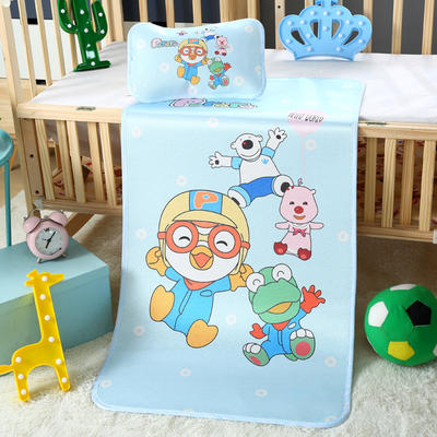 幼儿园儿童系列大版数码印花冰丝童席 如需无纺布手提袋/个 一起玩
