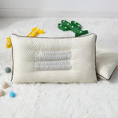 2019新款大版卡通花边枕套 枕芯包装 单买决明子枕芯--米黄