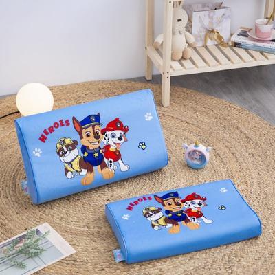 2019新款大版卡通水晶绒乳胶枕套 27*44cm*6/6(含枕套、内套和乳胶枕芯)/只 汪汪队