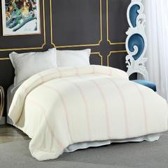 新疆棉花被 100%新疆长绒棉被胎 红线有网棉被 150x200cm 3斤