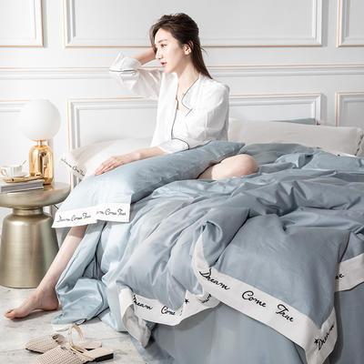 2019全棉60贡缎绣花款罗拉系列 1.8m(6英尺)床 罗拉-宾利蓝