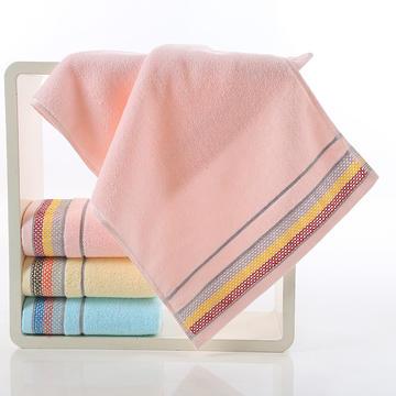 2018新款渔网毛巾 粉色34*74cm