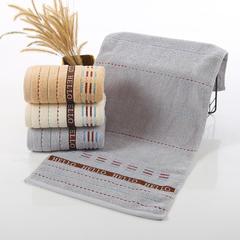 2018新款字母毛巾 灰色34*74cm