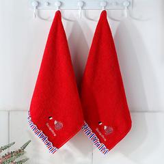 2018新款小刺猬款-方巾,毛巾,浴巾 方巾-红  34*34