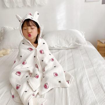 2020年春夏新品儿童披肩浴袍(70*140)