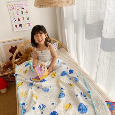 2020新款六層包邊童被浴巾 110*110cm 熱氣球