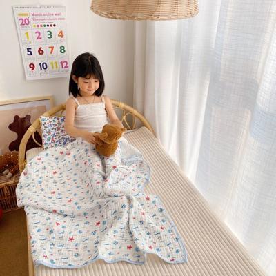 2020新款六層包邊童被浴巾 110*110cm 小丑魚