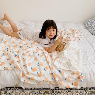 2020新款多功能肌感系列豆豆毯 70*120cm豆豆毯 小苹果