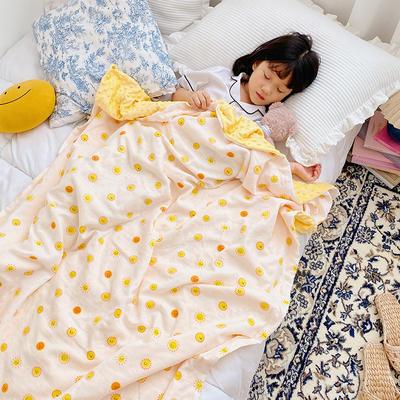 2020新款多功能肌感系列豆豆毯 70*120cm豆豆毯 小太阳