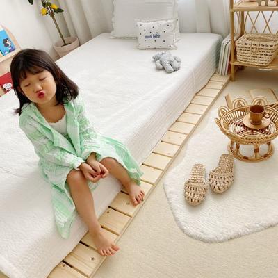 2020新款日式条纹浴袍 65厘米   2-4周岁 绿色浴袍