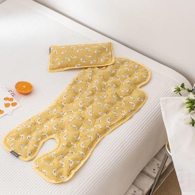 2019新款婴儿冰珠垫 香蕉宝贝(枕头30*18)