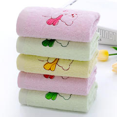 4条装纯棉毛巾柔软吸水成人家用大毛巾