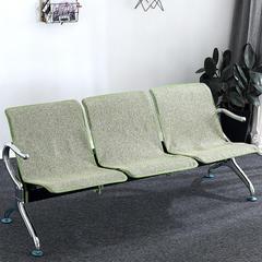 2018新款棉麻公共连排椅垫 50*85cm 素雅-绿