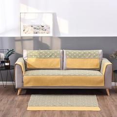 2019新款现代美式沙发垫-现代场景 70*70cm 盎然-拼色