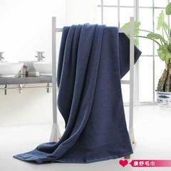 2018新款加密纹浴巾  70*140 蓝